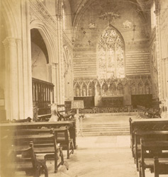 Interior of St Peter's Church, Fort William, Calcutta